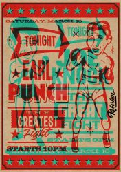 Retro Boxing Poster by roberlan