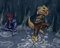 Undertale: Show them puddles who is the boss! by Lord-Evell