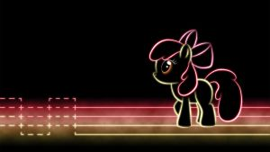 Apple Bloom Glow Wallpaper by SmockHobbes