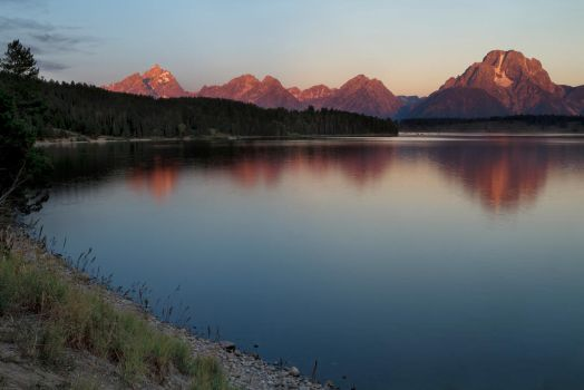 Grand Teton National Park Sunrise by dpierce1313