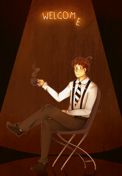 -All those nights (AT)- by Coffee-Evenings