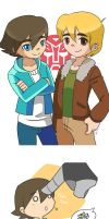 Russell and Cody by Evelynism