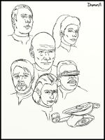 TNG Sketches by Damon1984