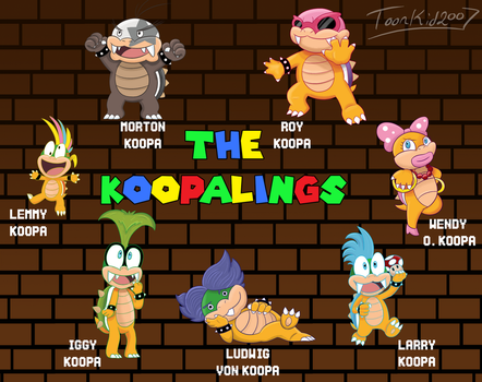The Koopalings by MrNerdling