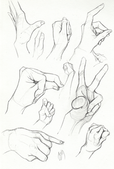 Self Practice - Hands 03 by AzizlaSwiftwind