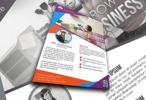 Colorful Corporate Flyer by afizs