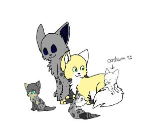 adopt theres kittens by SolarXolverite