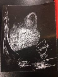 Scratch Art by WolfHeart0106