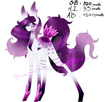 Amethyst Adopt Auction (CLOSED) by Missi-B