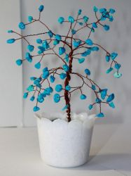 A turquoise tree by Spirit-of-Laharah
