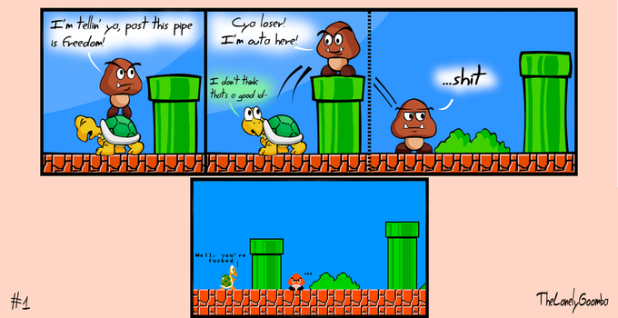 The Lonely Goomba #1 by TheLonelyGoomba