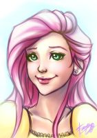 Gift - Fluttershy by riotfaerie