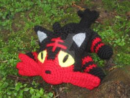 Pokemon - Litten Amigurumi by TallGrassArt
