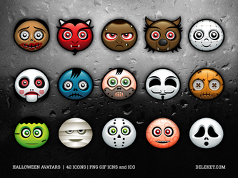 Halloween Avatars by deleket