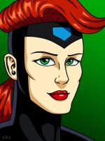 Jean Grey by Red-Flare