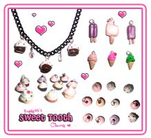 Sweet Tooth Charms by bapity88