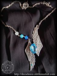 Jeu concours collier steampunk by midnightbreath