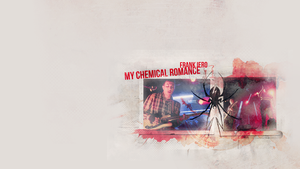 Frank Iero My Chemical Romance_wallpaper by aquite