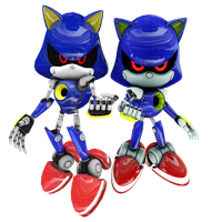 Metal Sonics by Mike9711