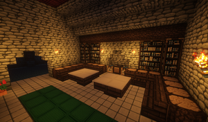 Alkiina Lodge - A cozy rest area by MythrilAngel