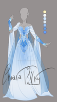:: Adoptable Aquamarine: AUCTION CLOSED:: by VioletKy