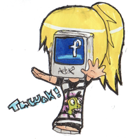 facebook by AnimeFace