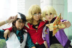 Tiger and Bunny and Ivan by CE-Ciel