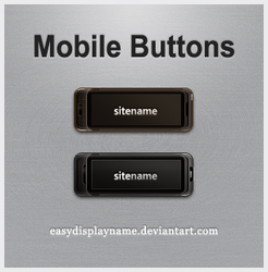 Mobile Buttons by easydisplayname