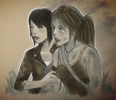 Sam and Lara by Paizy