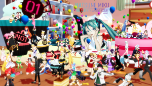 Happy 7th Birthday Miku by snakeblade31
