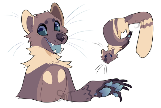 Pine Marten Named Pine Im Creative by Sweet-n-treat