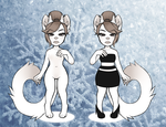 Snow White Cat- Auction 1p/$0.01 SB- Closed by AdoptableMakerz