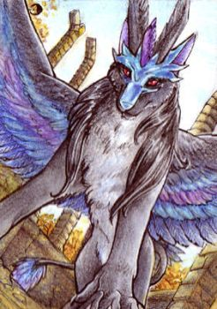 Aceo - Mistress of Air by Alassa