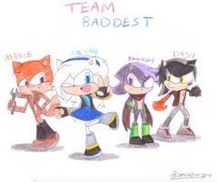 New Team Baddest by Jack-Hedgehog