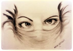 Oh Really, Eyes by BldyScarlet
