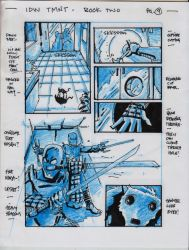 IDW TMNT Boook Two Pg 9 by Kevineastman