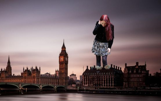 Goddess Amarie In London by pedro1232