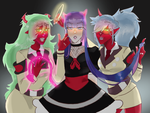 A Demon and Two Sisters by LalasPocket