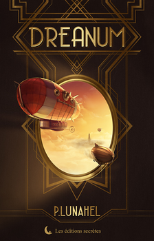 Commission - Book cover : Dreanum by Tiphs