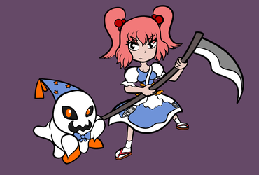 Cross Over - Doopliss and Komachi by FictionalCanvas