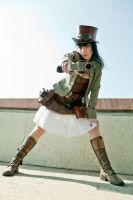 Steampunk-Lady 1 by Leder-Joe