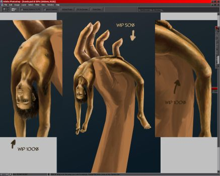 hand wip -3- by LainDragon