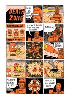 Death Zone - Simpsons Comic by Teagle