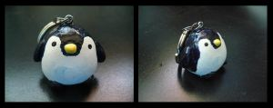 Penguin Keychain by sammers94