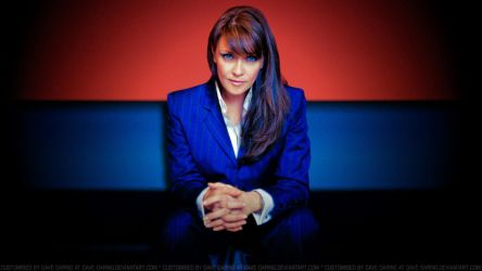 Amanda Tapping Boss Lady by Dave-Daring