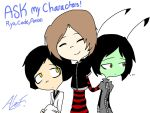 Ask my Characters! by MoonlightWolf17