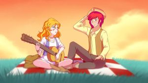 The Perfect Gift (Pic of the week MLPS7E13) by JonFawkes