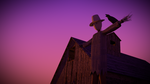 Scarecrow and Barn by BlenderAddict