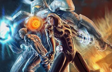 Pacific Rim by Will2Link