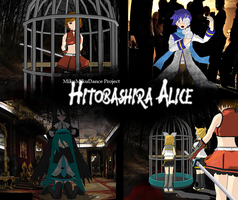 MMD Project: Hitobashira Alice by Temika